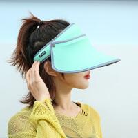 遮�帽女防紫外�帽子百搭遮�空�帽渡假太�帽�和�防�衩弊�
