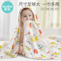 婴儿纱布浴巾纯棉新生超柔软全棉儿童专用洗澡巾吸水毛巾宝宝卡通