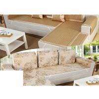 冰丝沙发垫夏季沙发套凉垫滑藤席坐垫凉席沙发垫软垫席垫定制