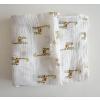 夏日纱布浴巾 婴儿襁褓巾 棉质纱布遮盖毯 外出遮盖巾 易洗易干