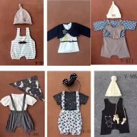 韩版新款儿童摄影服装森系半岁宝宝艺术照摄影f服饰写真照相衣服