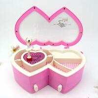 音乐盒八音盒女生跳芭蕾舞女孩旋转欧式水晶儿童公主 生日创意礼物