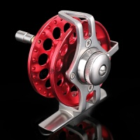 全金属带泄力前打轮冰钓轮筏轮飞钓轮超轻渔轮鱼轮鱼线轮