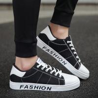 新品帆布鞋学生板鞋潮流青年男鞋子潮鞋透气布鞋青少年运动休闲鞋