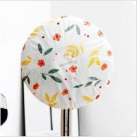 家用电风扇碎花套罩圆形电风扇落地风扇全包保护防尘罩 单个