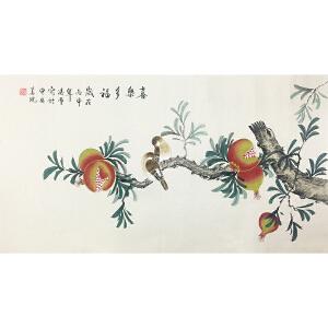 凌雪《喜乐多幅》著名画家