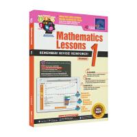 SAP Mathematics Lessons 1新加坡新亚出版社数学课堂练习册一年级英文原版进口图书小学教辅7岁ST
