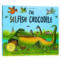自私的鳄鱼The Selfish Crocodile Anniversary Edition 英文原版绘本 英语启蒙读