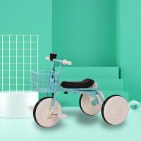 脚踏车儿童礼品自行车儿童三轮车 脚踏车宝宝 手推车小孩车子自行车轻便遛娃神器