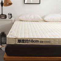 床垫1.8m床2米双人床褥子榻榻米垫子垫被海绵1.5垫背1.8x2.0加厚
