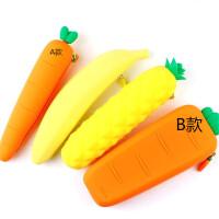 一正蔬菜水果笔袋 学生笔类收纳袋 毛绒文具袋 多款学生六一小礼品 小奖品可选