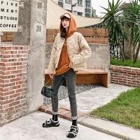 七格格棉衣女韩版宽松2019新款冬季长袖短款棉袄学生面包服外套潮
