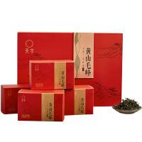 天方茶叶 绿茶 黄山毛峰300g 礼盒装
