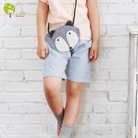 【当当自营】贝康馨 Baby Comfort2016童装夏季新款 儿童韩版素色哈伦短裤 纯棉童裤
