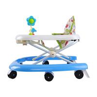 宝宝婴幼儿童学步车助步车多功能可折叠带玩具