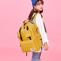 背包女�p肩包大容量旅行包多功能��X包大�W生��包