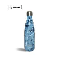 【当当自营】杯具熊(BEDDYBEAR) 双层不锈钢真空可乐瓶运动时尚户外车载男女水壶 直身随手保温杯500ml 蓝宝石可乐杯