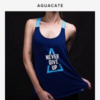 女子运动背心健身跑步速干衣夏季透气上衣弹性瑜伽健身服饰