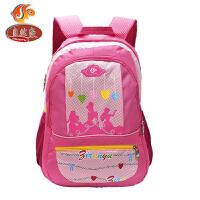 自然鱼 书包小学生女新款旅行袋大容量行李包双肩包男
