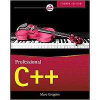 【预订】Professional C++, Fourth Edition 9781119421306