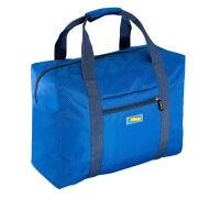 户外大容量旅行包手提便携手提包折叠包字母包放拉杆箱上的收纳包潮流简约