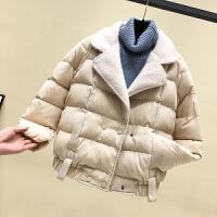 女2018新款冬装棉衣宽松学生短款棉袄面包服加厚外套
