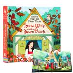 白雪公主和七个小矮人 Snow White and the Seven Dwarfs Pop-up 英文原版纸板立体书