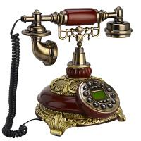 家用仿古电话机座机欧式电话机无线插卡固定办公复古电话