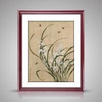 中式装饰画客厅壁画卧室墙画现代有框餐厅挂画水墨画 60*70CM外框尺寸 单幅价格(多幅选图案加购物