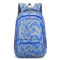 自然鱼 书包中学生男女双肩书包学院风 高中生背包款4-8年级小学生书包