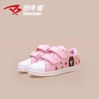 彼得潘童鞋女儿童运动鞋 女童板鞋 秋季新品卡通公主鞋P566