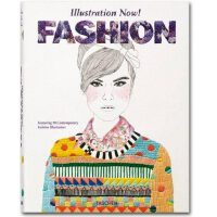 Illustration Now! Fashion 插画现在时 当代流行时尚服装插画画册 TASCHEN英文原版服饰手绘艺术