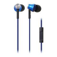 铁三角 ATH-CK330iS BL智能型手机专用耳塞式通话耳机 蓝色