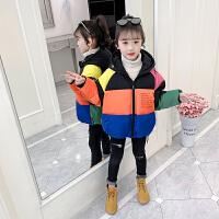 女童棉衣冬装儿童羽绒女孩外套棉袄短款童装