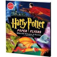 【现货】英文原版 手工模型书 儿童益智图书 STEAM体系 Harry Potter Paper Flyers 978