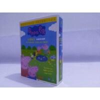幼儿早教动画片小猪佩奇英文原版dvd粉红猪小妹四季 中英双语光盘