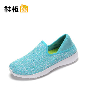 Daphne/达芙妮旗下 鞋柜春秋帆布休闲鞋日常编织网布单鞋