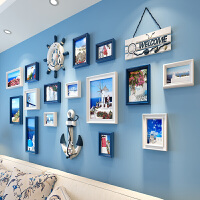 地中海装饰画卧室欧式壁画现代简约客厅沙发背景墙面挂画餐厅墙画