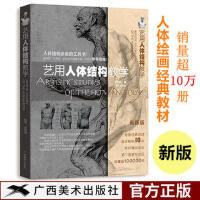 艺用人体结构教学 胡国强结构骨骼肌肉解剖伯里曼教程正版图书09
