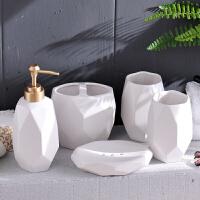 现代家居饰品摆件装饰卫生间洗漱用品套装浴室创意软装摆设工艺品