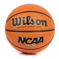 Wilson 威尔胜 室内外通用 校园训练耐磨竞赛篮球 WB704G NCAA.金MVP篮球 7号篮球