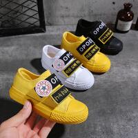 儿童帆布鞋男童布鞋宝宝小白鞋女童鞋子板鞋