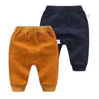 婴儿裤子春装女童打底裤1岁3个月男宝宝大pp裤春季