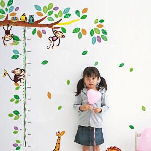 御目 墙贴 卡通幼儿园儿童房量身高贴纸墙面装饰品墙纸墙壁纸自粘卧室墙贴画装饰墙画及家居用品