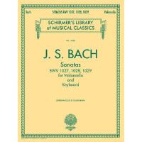 【预订】Sonatas for Violoncello and Keyboard BWV 1027, 1028, 10