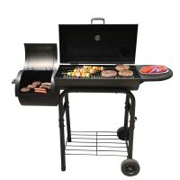 烧烤炉子烧烤架碳炉庭院BBQ商用户外家用木炭熏烟炉家用