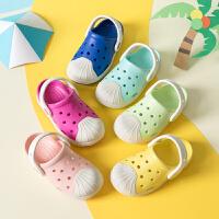 儿童凉鞋夏季新款1-3-5岁女童软底防滑沙滩鞋宝宝包头男孩