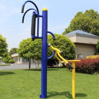 室外健身器材腰背按摩器背部综合训练器老人社区小区户外健身路径