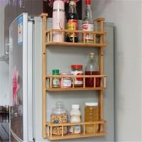 冰箱挂架 侧壁挂架 厨房置物架 冰箱夹 浴室架 碳化