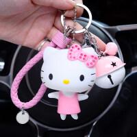卡通猫钥匙扣可爱猫咪公仔汽车钥匙挂件男士女款包包挂饰钥匙链